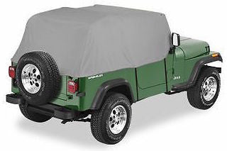 1997-2006 Jeep Wrangler Smittybilt Cab Cover in Gray