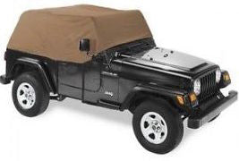 1997-2006 Jeep Wrangler Smittybilt Cab Cover in Spice
