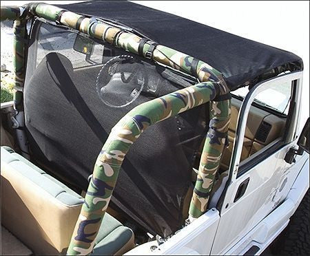 1992-1995 Jeep Wrangler VDP Roll Bar Padding Kit Camouflage