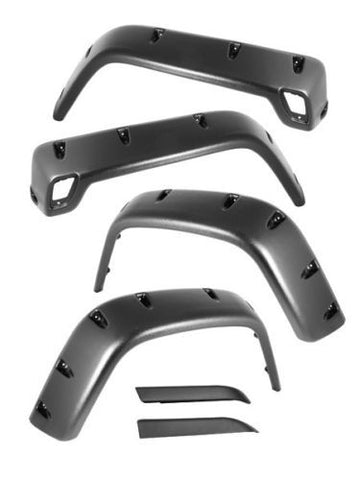 "1997-2006 Jeep Wrangler Smittybilt 6"" Wide Pocket Fender Flares Six Piece Kit"