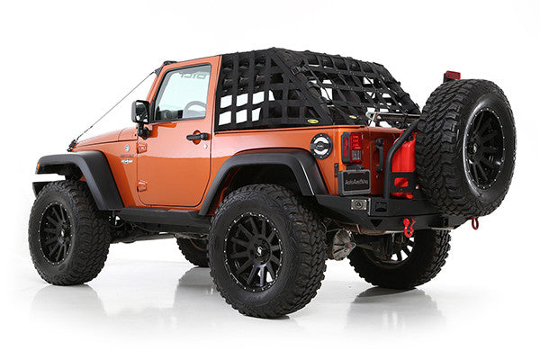 2007 2016 Jeep Wrangler 2 Door Smittybilt C Res Hd Cargo