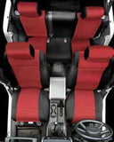 2008-2012 Jeep Wrangler Unlimited Smittybilt Neoprene Seat Cover Kit (color options)