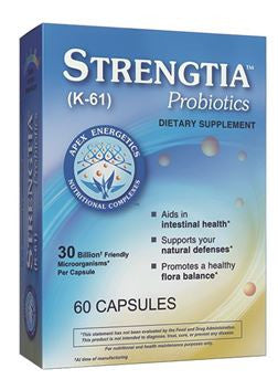 Strengtia Probiotics 60 caps K-61 APEX Energetics - Seabrook Wellness - APEX Energetics