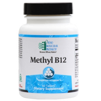 METHYL B12 60 Tabs ORTHO MOLECULAR