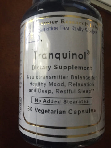 Tranquinol 60 Caps PREMIER RESEARCH LABS - Seabrook Wellness - Miscellaneous