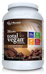 Total Vegan Mocha 14 servings NuMedica - Seabrook Wellness - NuMedica