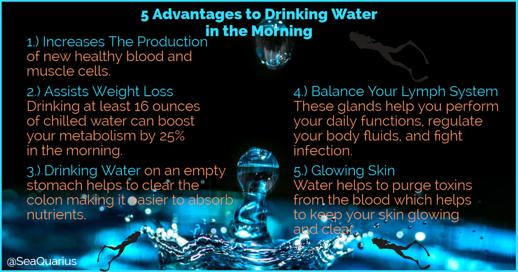 5 Advantages to Drinking Water