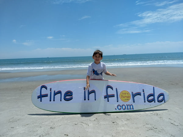 Fine in Florida Surfboard and Everett