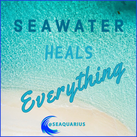 SeaQuarius Seawater heals everything