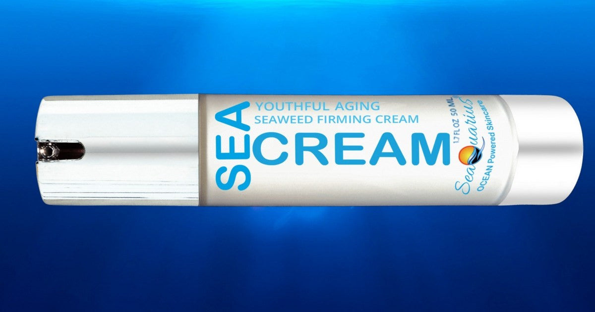 Anti Aging Facial Cream - The Sea Cream - Youthful Aging And Firming Formula