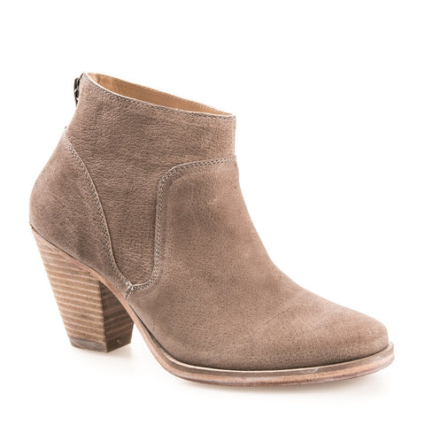 WOMEN'S BELGRAVE TAN LEATHER ANKLE BOOT