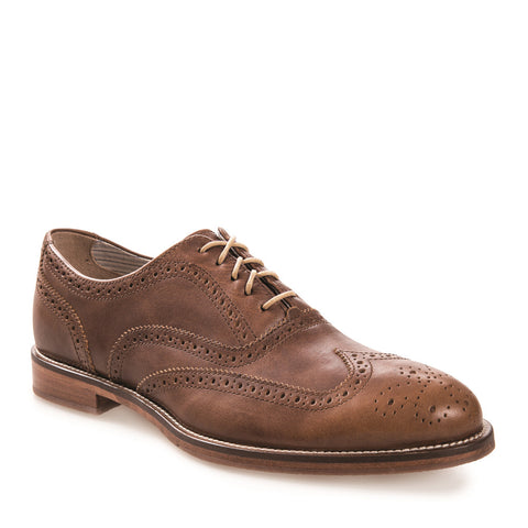 Men's Charlie Brass Leather Dress Brogue