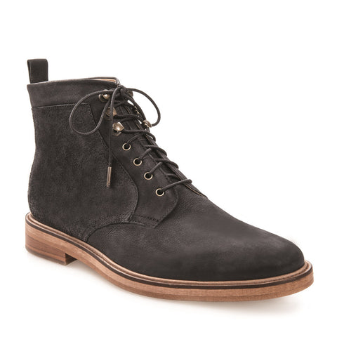 Men's Kirkwood Black Lace Up Leather Boot
