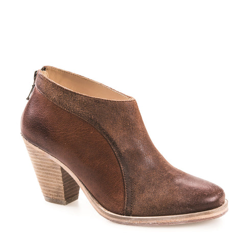 WOMEN'S LUCIA TAN LEATHER ANKLE BOOT