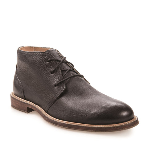 Men's Monarch Black Leather Chukka Boot