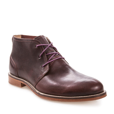 Men's Monarch Raisin Leather Dress Chukka Boot