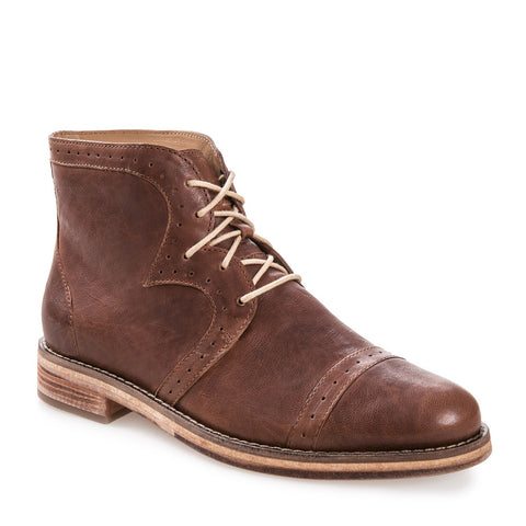 Women's Sarah Tan Leather Boot