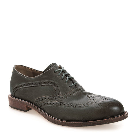 Men's Spencer Indigo Leather Brogue Oxford