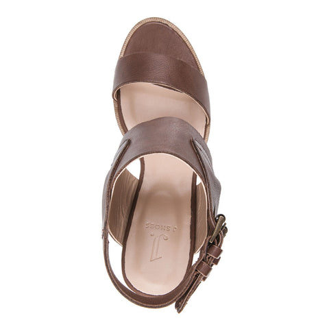 WOMEN'S KAREN TAN LEATHER SANDAL