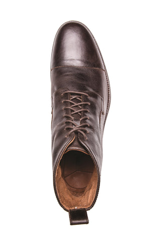 Men's Raider Tmoro Brown Lace Up Leather Derby Boot