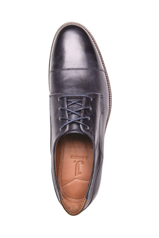 Men's Indi Midnight Blue Leather Derby