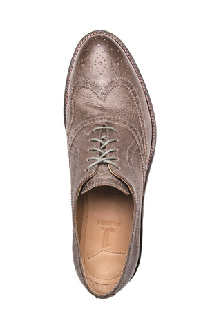 Men's Spencer Paloma Grey Leather Brogue Oxford