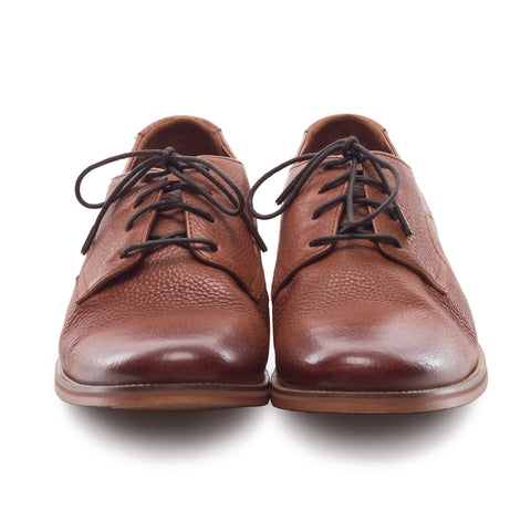 Men's Indi Tan Leather Derby