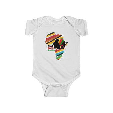 Black, Bold and Beautiful Baby Infant Fine Jersey Bodysuit