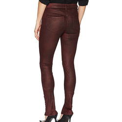 William Rast Women's Kate Moto 5 Pocket Skinny Jeans with Front Hem Slit Size 25