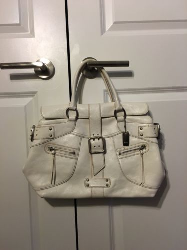 DKNY Large Leather Tote Bag