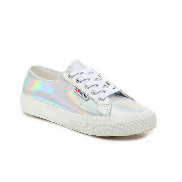 Superga Women's 2750 Hologramw Fashion Sneaker Size 10