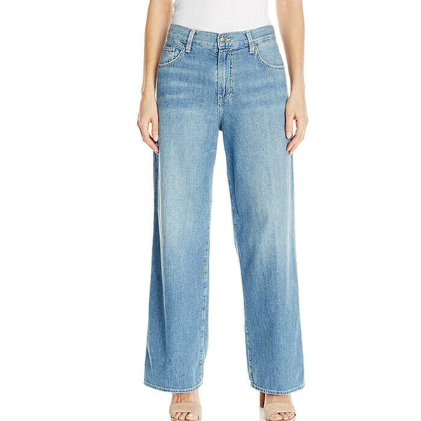 Vince Wide Leg High Rise Denim Jeans Womens Size 28 MSRP $275