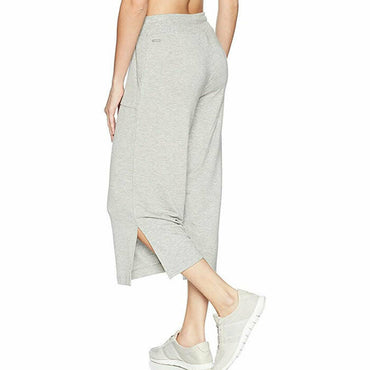 Marc New York Performance Gray Culotte Cropped Active Slit Hem Pants Size L