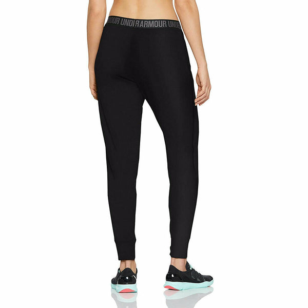 Under Armor Women's Black Play Up Active Pants Joggers Size XL