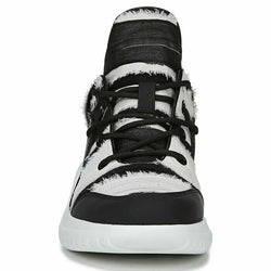 Sam Edelman Womens Meena White & Black Fashion Sneaker Size 8