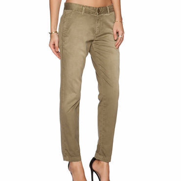 Current/Elliott The Buddy Trouser Cropped Chino Style Pants Size 32