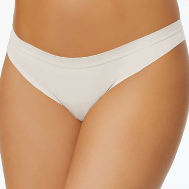 DKNY White Thong Downtown Cotton Thong DK1028 Size L