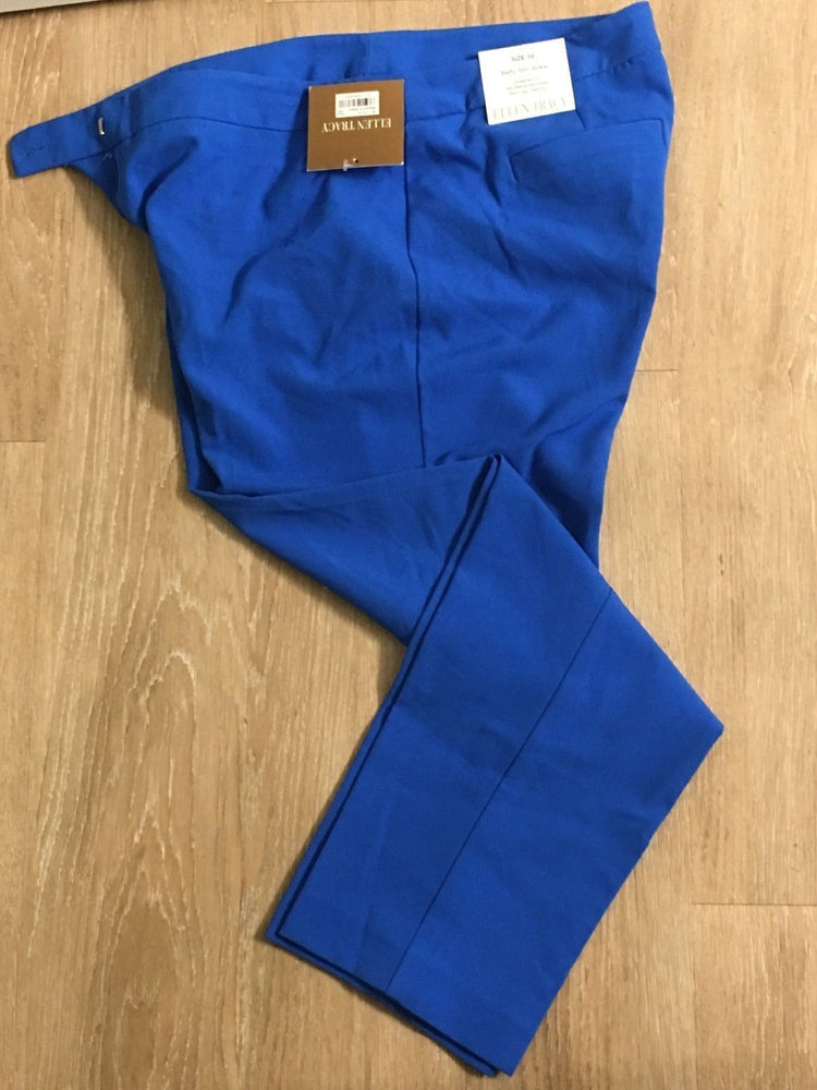New Ellen Tracy Blue Pants Size 10