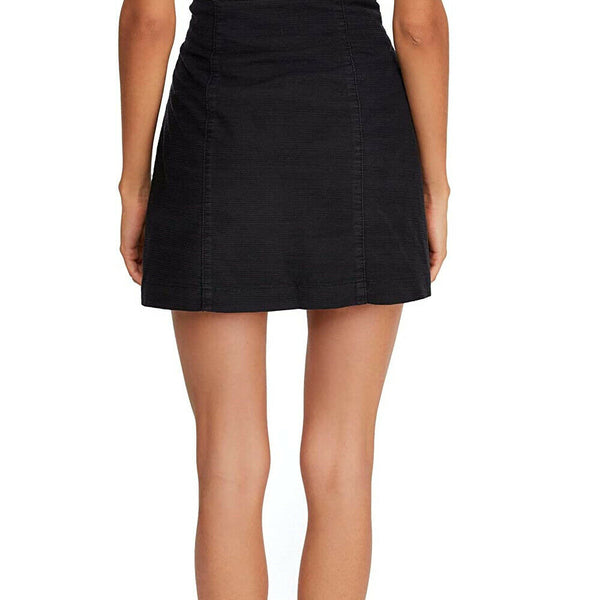 Free People Every Minute Every Hour Mini Black Skirt Size 10