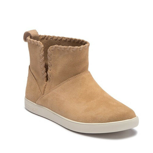 Koolaburra By UGG Women's Rylee Sand Brown Pull On Ankle Booties Boots Size 11