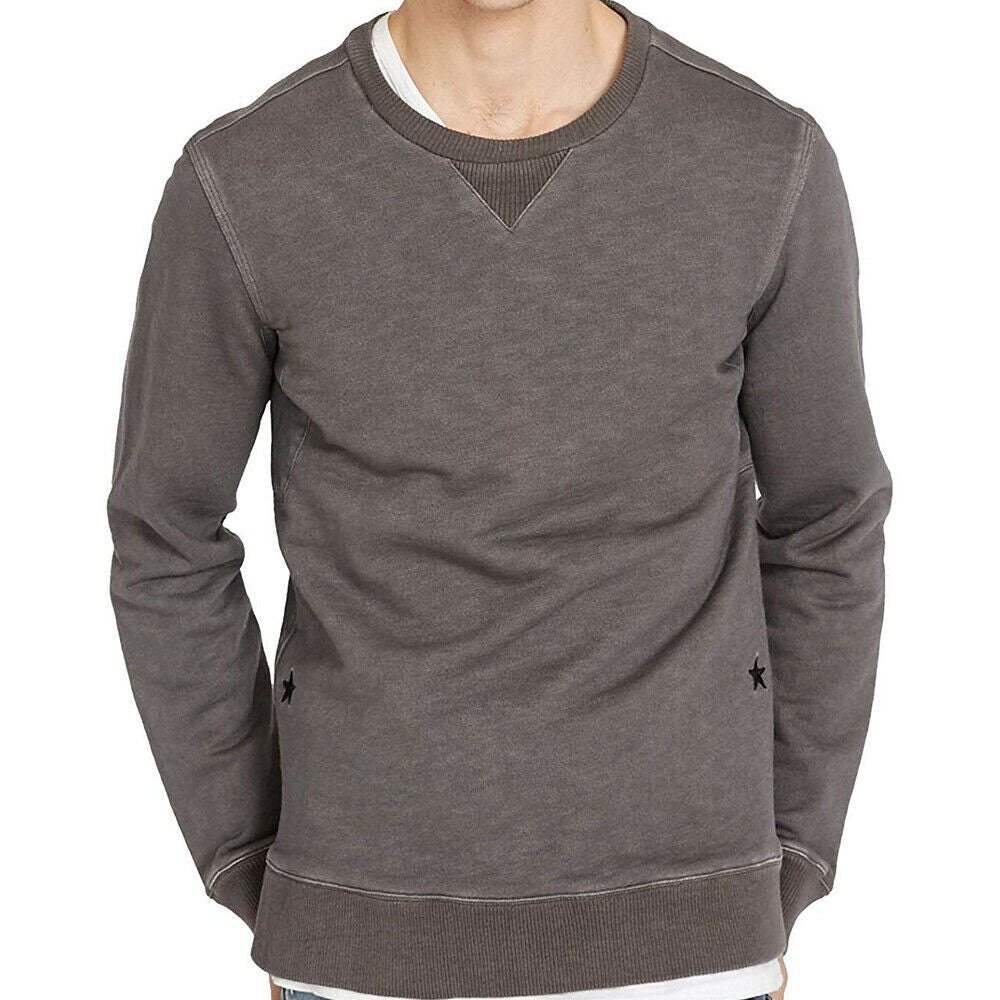 Buffalo David Bitton Gray Classic Fit Fidoblery Sweatshirt Size XL