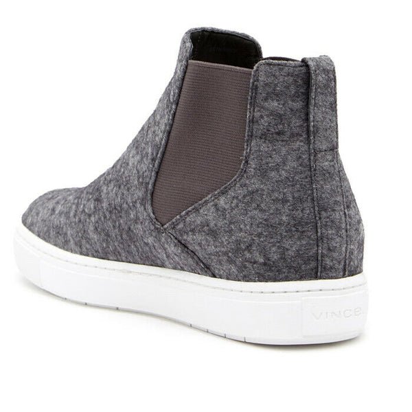 Vince Newlyn High-Top Gored Wool Fashion Sneakers Size 7