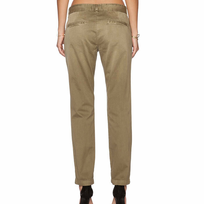 Current/Elliott The Buddy Trouser Cropped Chino Style Pants Size 24