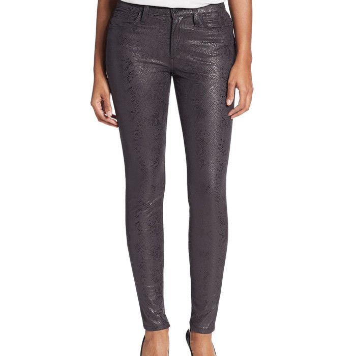 Joe's Jeans Black Mid Rise Skinny Ankle Jeans