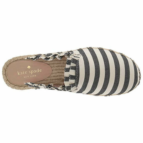 Kate Spade Laila Espadrille Flat Slip On Mule Style Shoes Size 9
