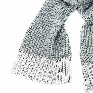 Michael Kors Womens Silver Metallic End Muffler Scarf 537565C NWT $88