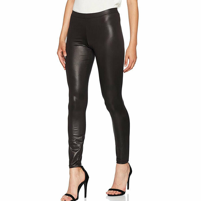Vero Moda Rock Shiny Black Liquid Legging Size M