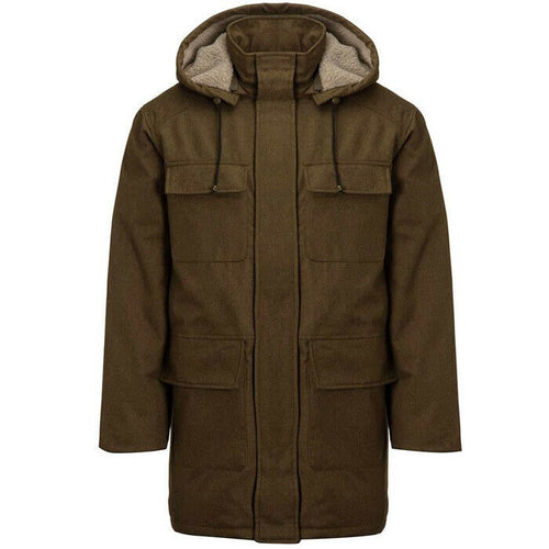 Rainforest Ceo Storm Loden Winter Hooded Thermolite Coat Jacket Size L $395