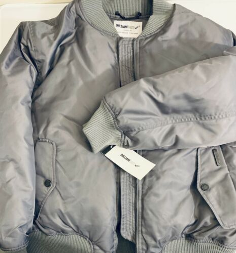 William Rast Women's Down Aviator Bomber Jacket Coat Size M