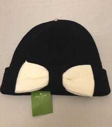 Kate Spade Bow Knit Hat NWT